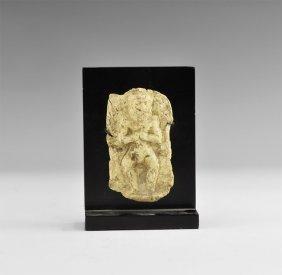 Western Asiatic Old Babylonian Humbaba Votive Plaque