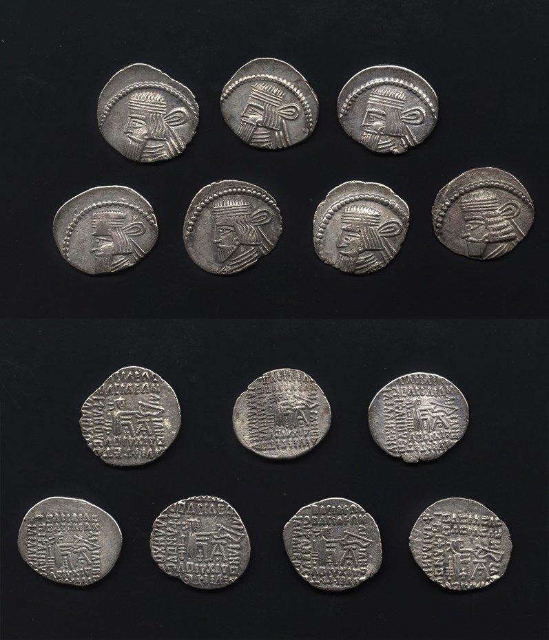 Ancient Greek Coins - Parthia - Artabanus II, Gotarzes