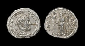 Ancient Roman Imperial Coins - Macrinus - Liberalitas