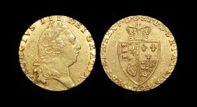 English Milled Coins - George Iii - 1794 - Gold 'spade'