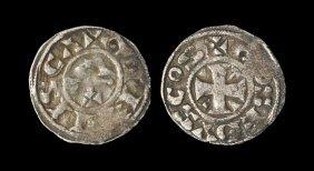World Coins - France - Gien-donzy - Geoffrey Iii -