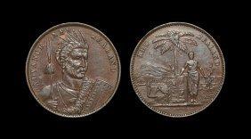 World Coins - New Zealand - Milner & Thompson - 'maori'