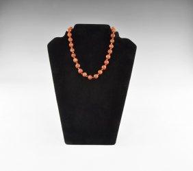 Islamic Carnelian Beads String
