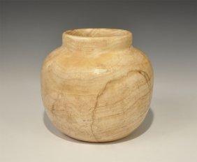 Near Eastern Bactrian Style Alabaster Vessel