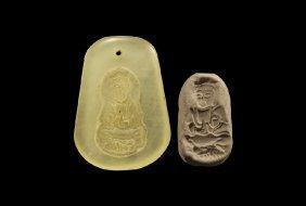 Chinese Buddha Pendant