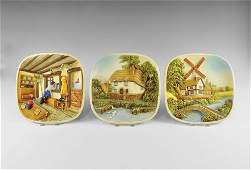 Vintage Wall Plaque Group