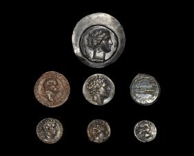 Ancient Greek Coins - Mixed Electrotype And Casts Group