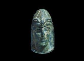 Roman Style Bust Of Minerva