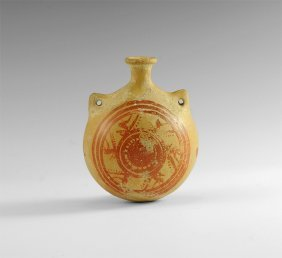 Cypriot Bichrome Flask