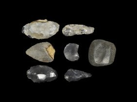 Stone Age Mixed Implement Collection