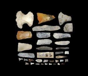 Stone Age Danish Flint Tool Group