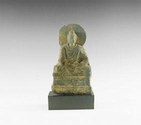 Gandharan Seated Buddha