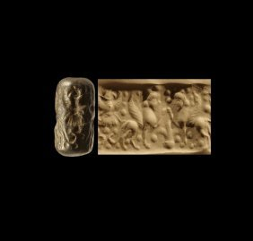 Western Asiatic Mesopotamian Cylinder Seal