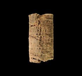 Western Asiatic First Dynasty Of Isin Cuneiform Tag