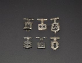 Medieval Toggle Fastener Group