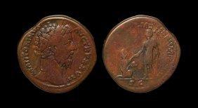 Ancient Roman Imperial Coins - Marcus Aurelius - Italia