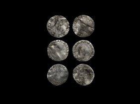 English Tudor Coins - Mary - Groats Group [3]