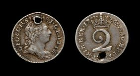 English Milled Coins George Iii - 1765 - Silver