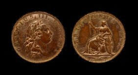 English Milled Coins - George Iii - 1788 - Pattern