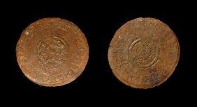 English Milled Coins - Elizabeth Ii - 1957(?) - Off
