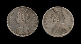 World Coins - India - British India - Victoria -1862 -