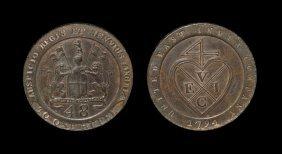 World Coins - India - British India - United East India