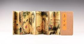 Chinese Style Erotic Folding Book