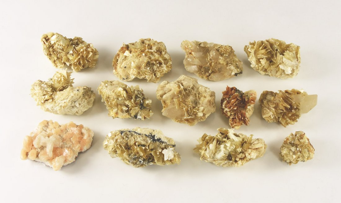 Natural History - Muscovite and Quartz Crystal Group