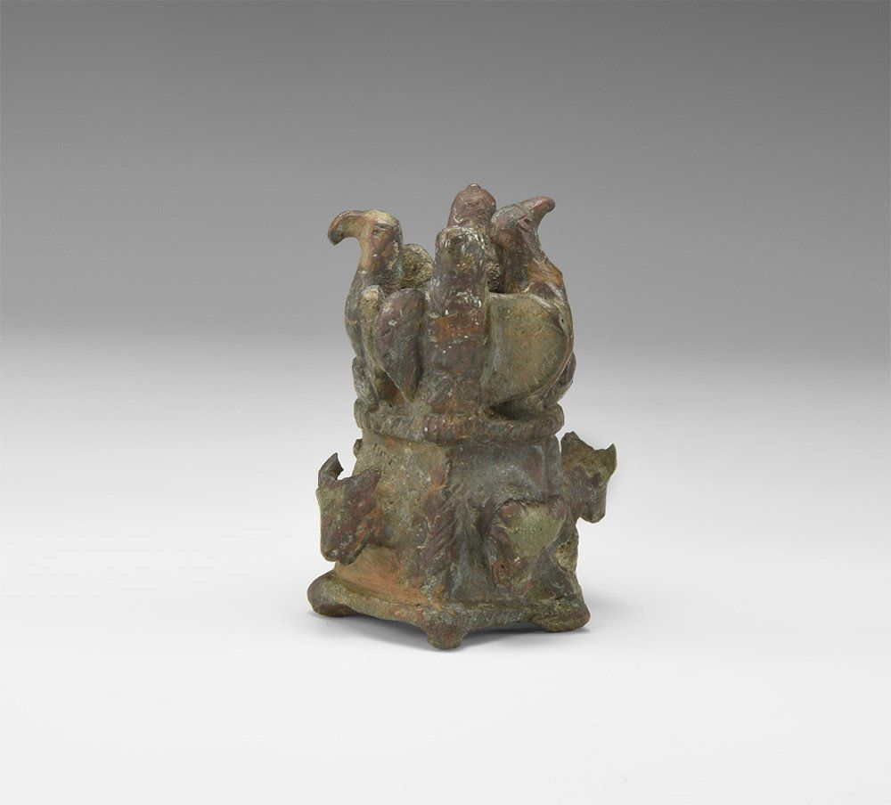 Roman Chariot Fitting with Eagles and Bulls Heads