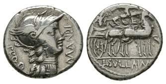 Ancient Roman Republican Coins  Cornelius Sulla and L