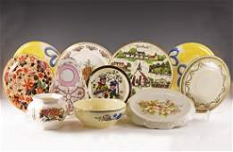 Vintage Plate and Bowl Group