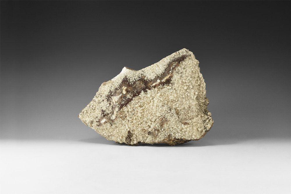 Natural History Calcite on Matrix Mineral Specimen.