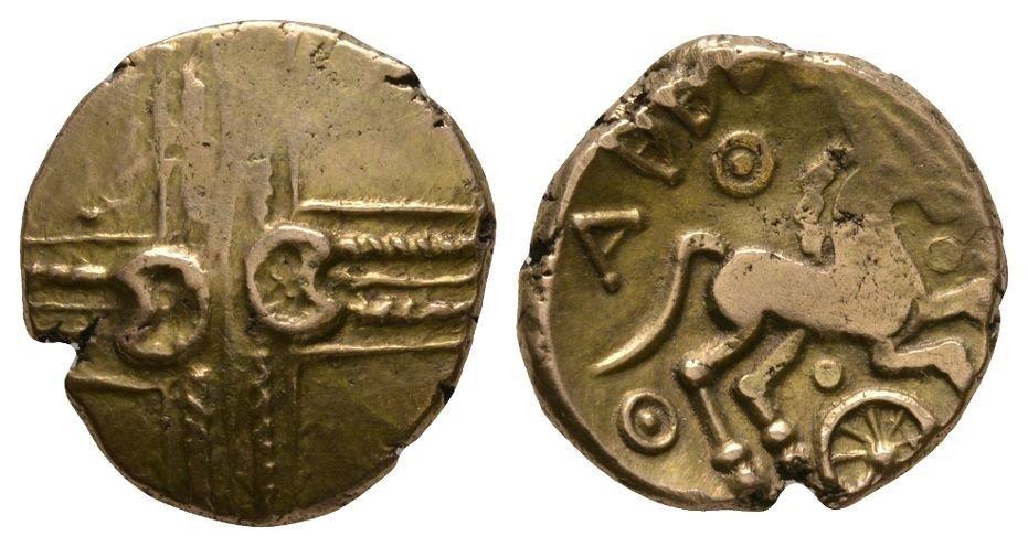 Celtic Iron Age Coins - Catuvellauni - Addedomaros -