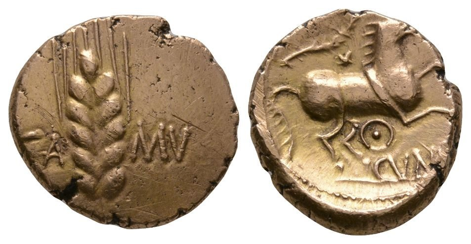 Celtic Iron Age Coins - Catuvellauni - Cunobelin - Gold