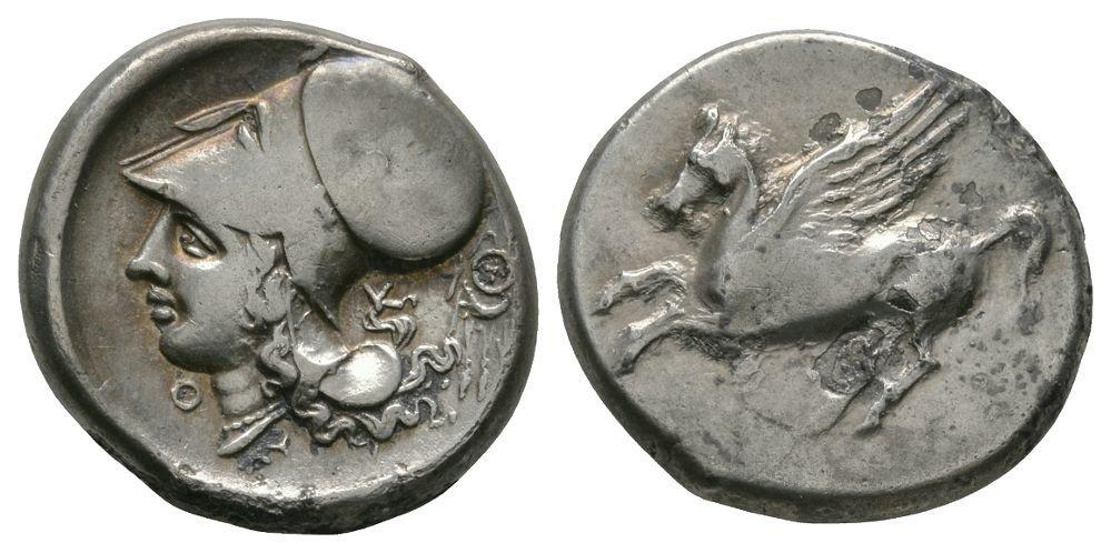 Ancient Greek Coins - Acarnania - Thyrrheium - Pegasos