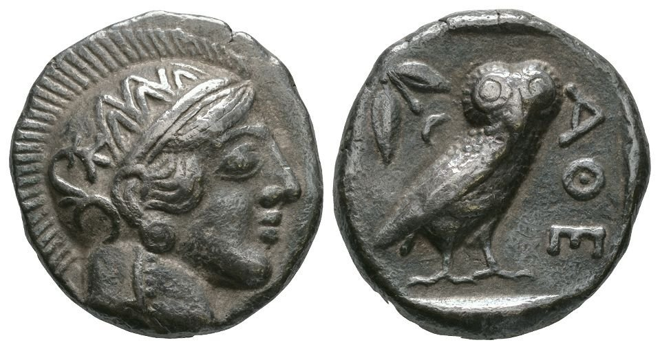 Ancient Greek Coins - Syria - Imitatative Athens Owl