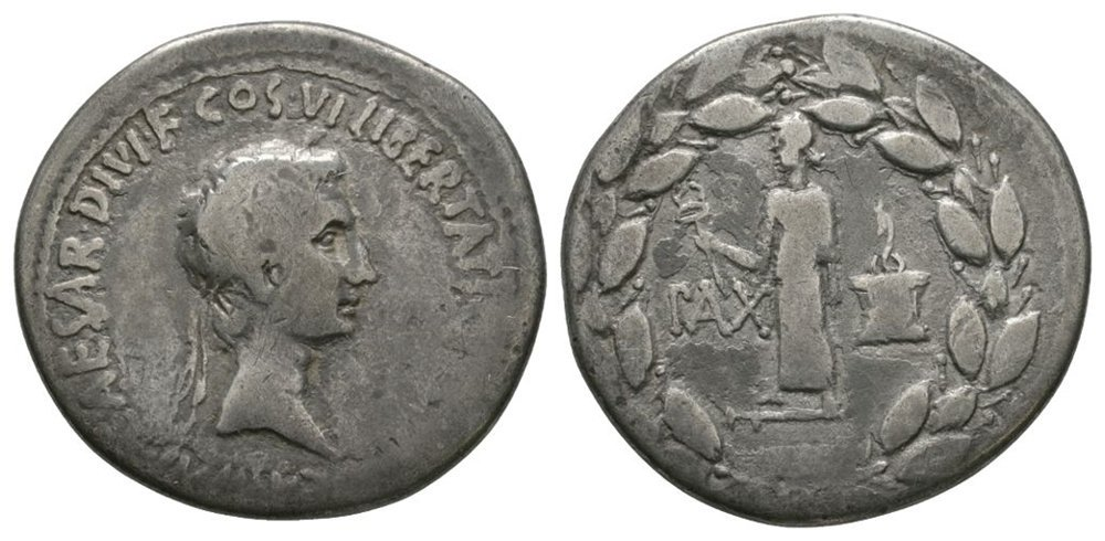 Ancient Roman Imperial Coins - Octavian (later