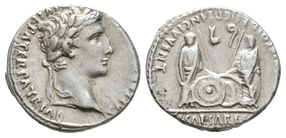 Ancient Roman Imperial Coins - Augustus - Gaius and