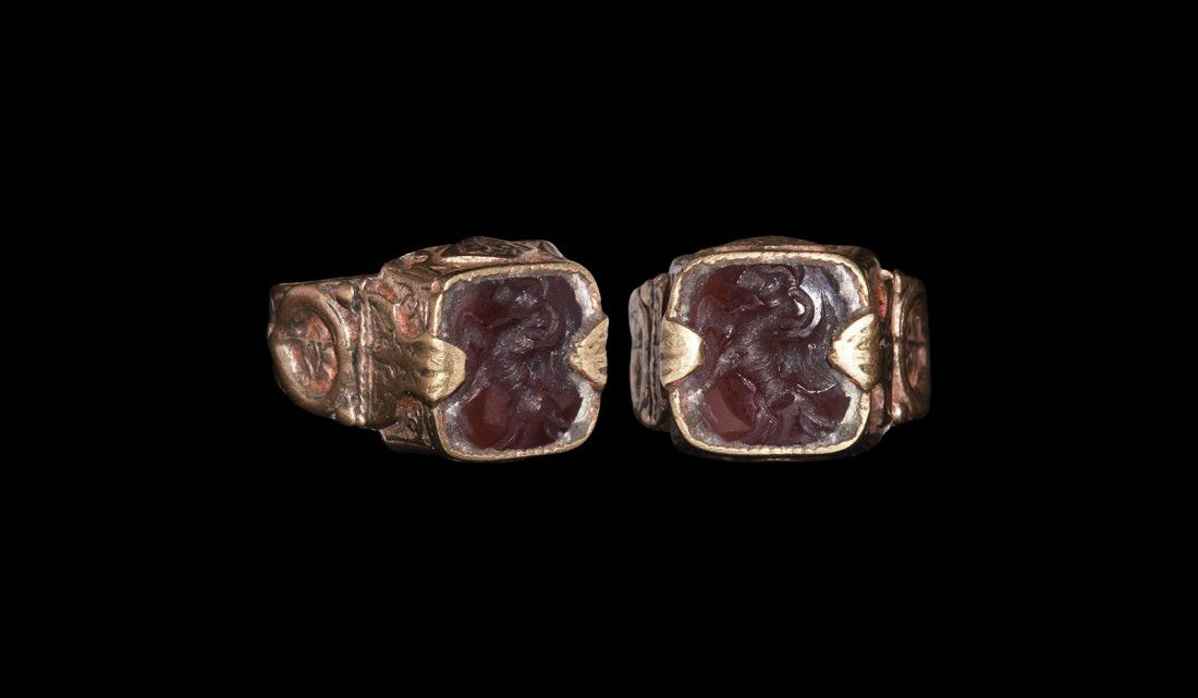 Post Medieval Ring with Intaglio