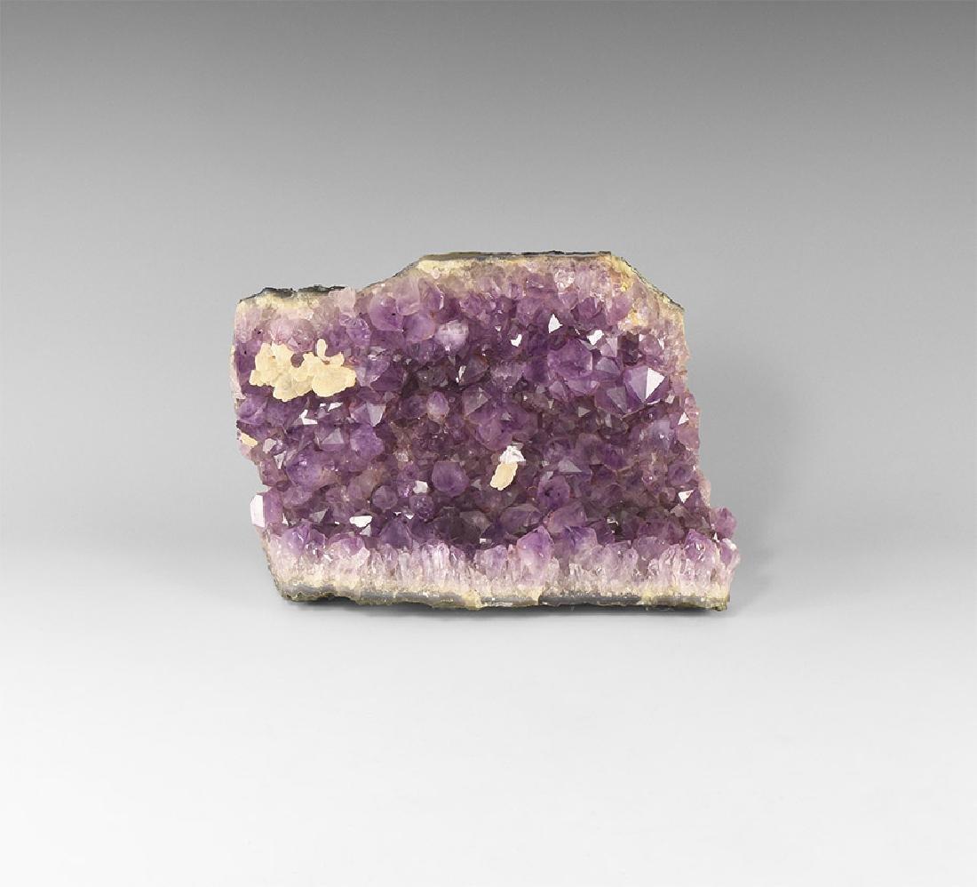 Amethyst Mineral Specimen.