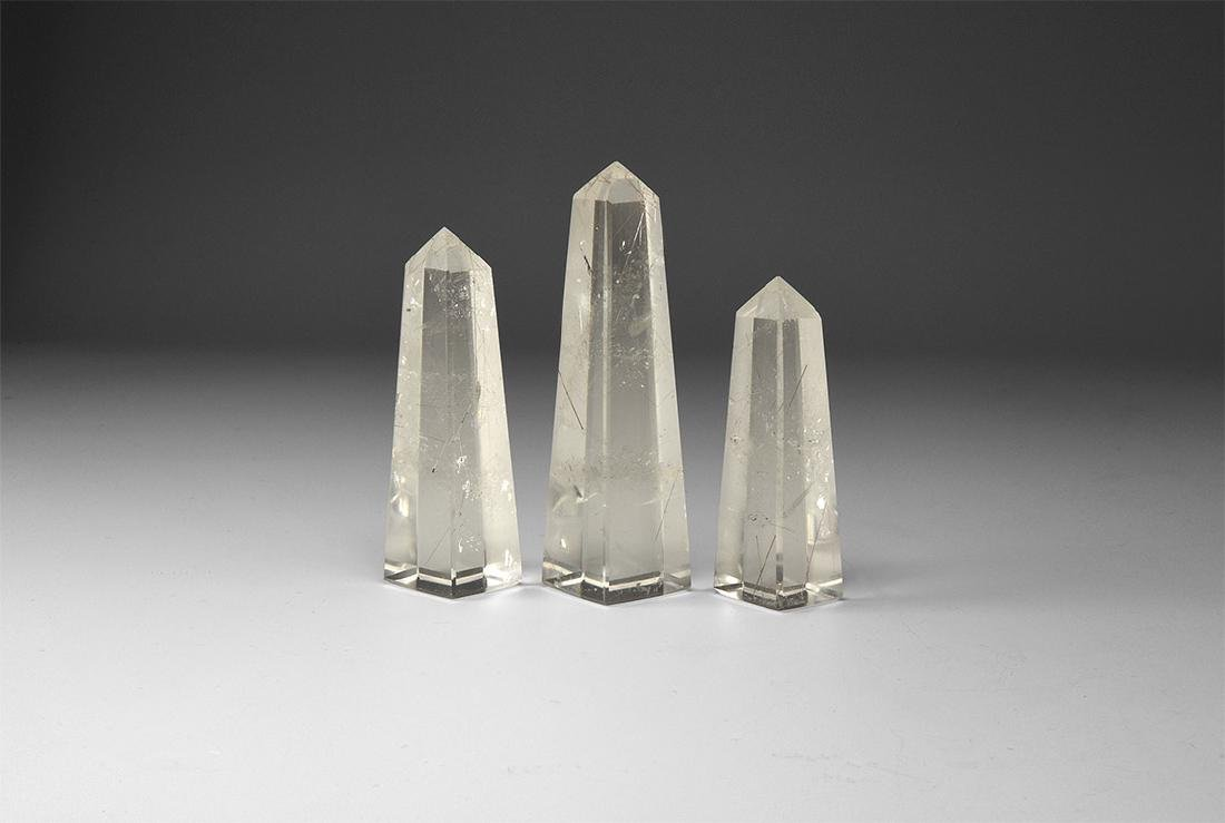 Quartz Obelisk Set.
