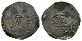 Medieval-Henry II-Canterbury / Ricard - Tealby Penny