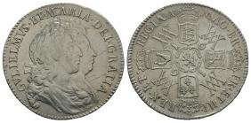 Milled Coins - William and Mary - 1691 - Halfcrown