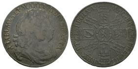 Milled Coins - William and Mary - 1693 - Halfcrown