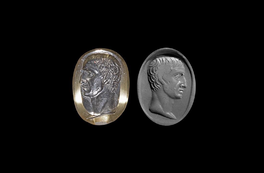 Roman Grand Tour 'Julius Caesar' Intaglio