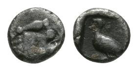 Ancient Greek Coins - Ionia - Miletos - 1/48th Stater