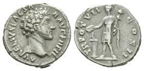 Imperial - Marcus Aurelius - Genius Denarius
