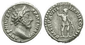 Imperial Coins - Marcus Aurelius - Mars Denarius