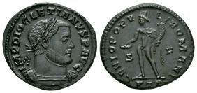 Imperial Coins - Diocletian - Genius Follis