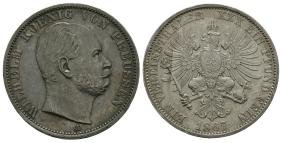 World Coins - German States - Prussia - 1867 - Thaler